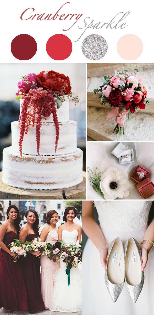 CranberrySparkle_detail wedding theme