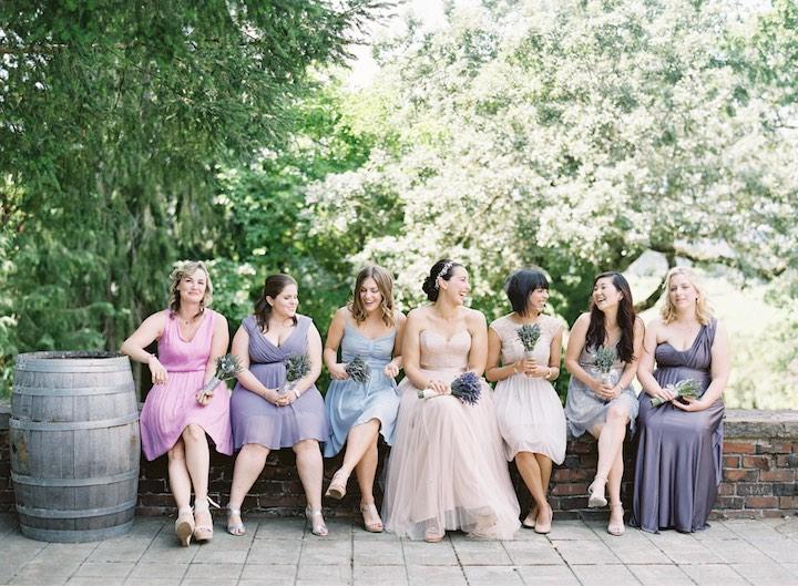 bride maids dress code
