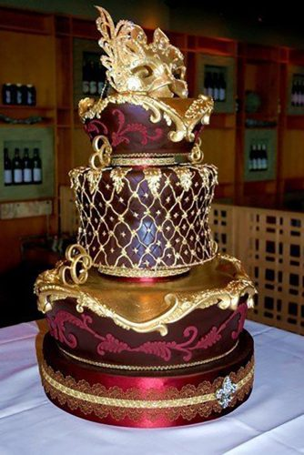 elegant magical wedding cakes