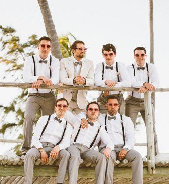 simple wedding attire