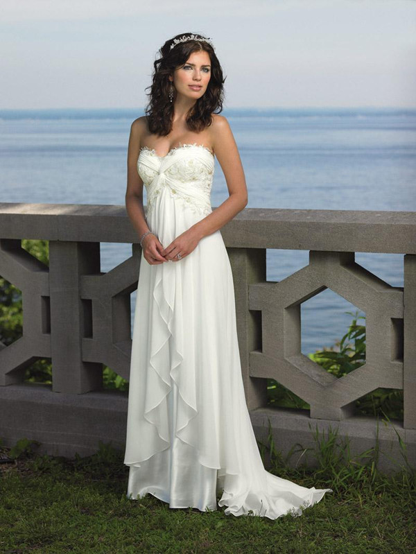 simple and elegant gown