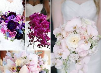 orchids wedding bouquets