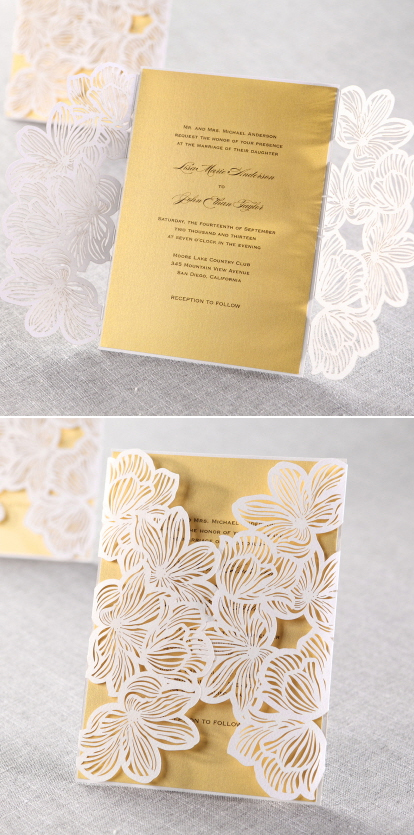 pretty-laser-cut-wedding-invitation