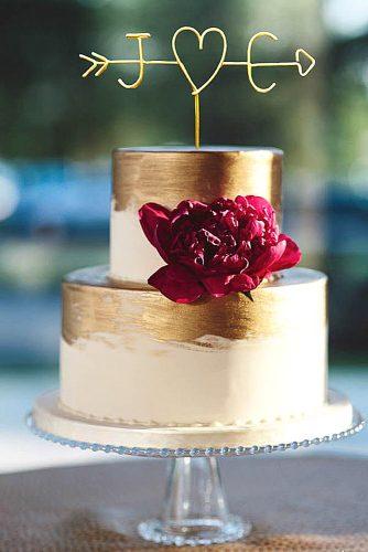 simple wedding cake design