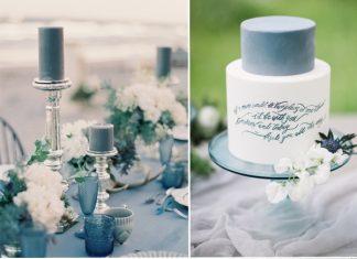 Niagara-blue-and-white-wedding ideas-for-spring-summer-wedding stylish wedd