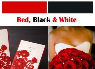 classic red wedding ideas