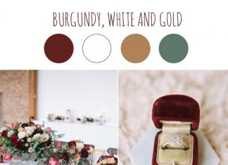 trends wedding color scheme