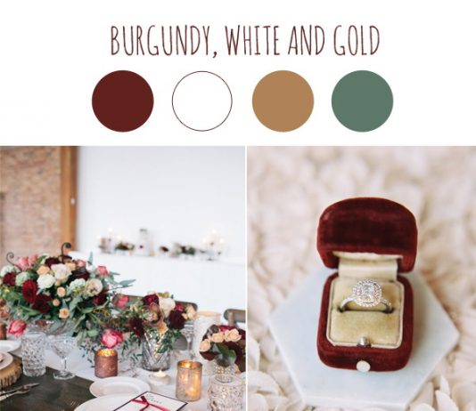 trends wedding color scheme