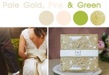gorgeous wedding color inspiration