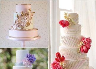 charming wedding cakes designs