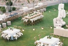 classic table wedding decoration ideas