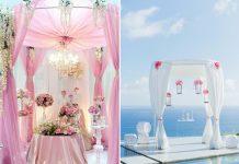 romantic wedding altar ideas