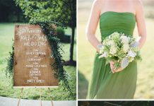 greenery wedding concept ideas