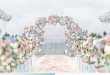 charming wedding altar ideas