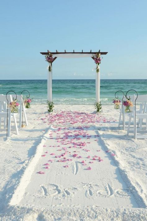 white awesome wedding aisle