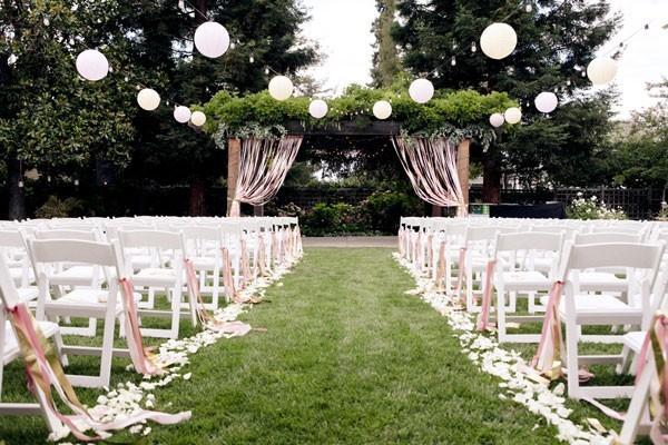 beautiful outdoor wedding design