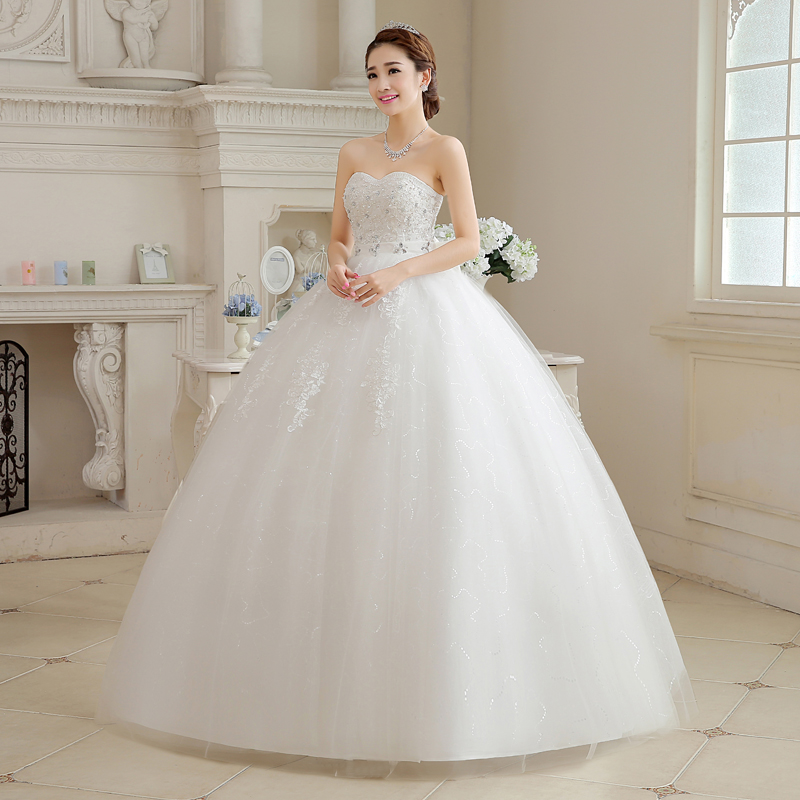 glamour ball wedding gown