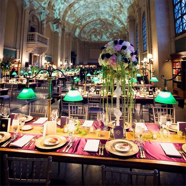 elegant wedding table design