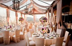 pink summer wedding theme idea