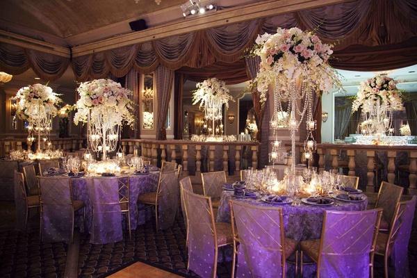 white awesome wedding reception