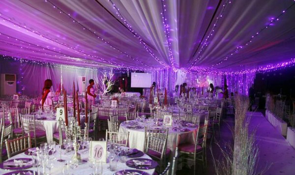 luxury purple wedding theme