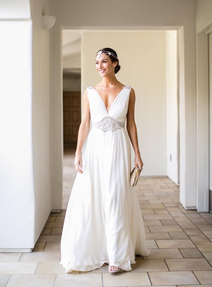 simple beautiful wedding dress