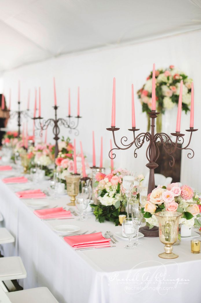 beautiful peace wedding decor