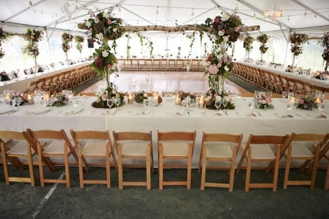 white modern wedding theme