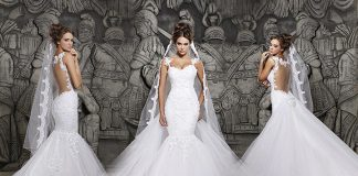 perfect glamorous wedding gowns