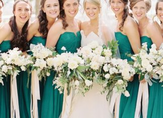 green color wedding ideas