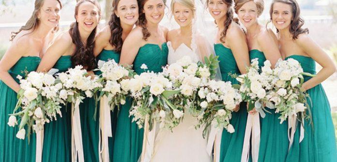 green color wedding ideas