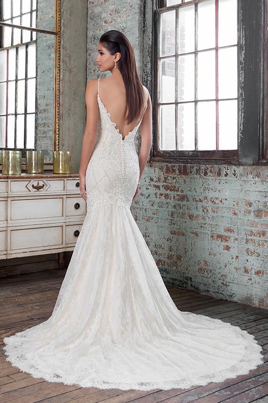 beautiful mermaid gown