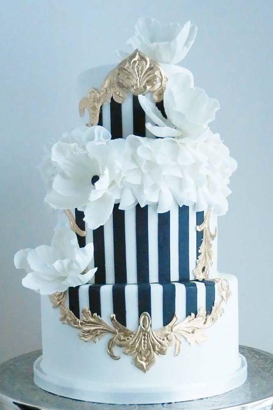 elegant wedding cakes model