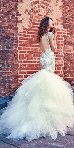 luxury ball wedding gown