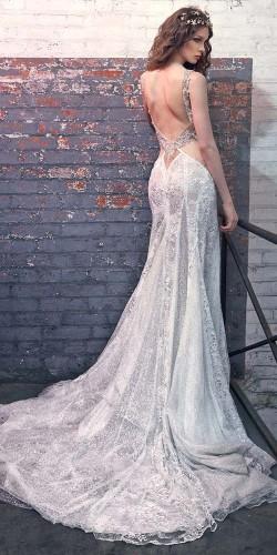 white sexy wedding dress