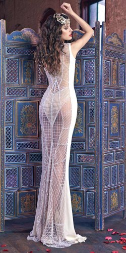 sexy and glamor gown