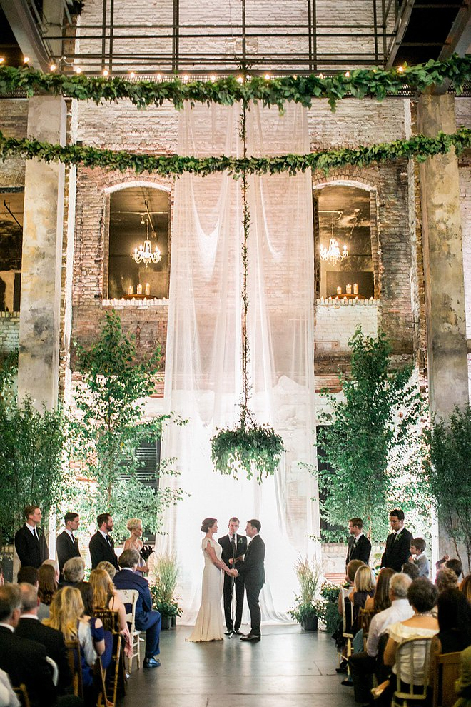 awesome indoor wedding ceremony