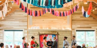 colorful wedding concept design