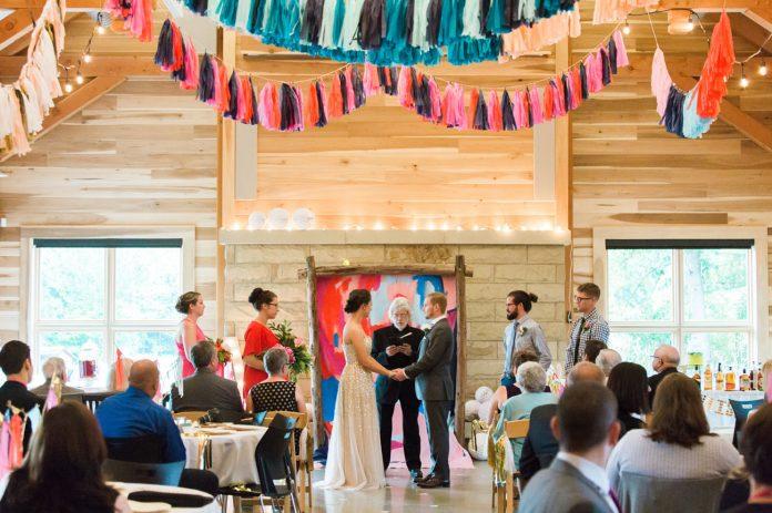 colorful wedding concept design