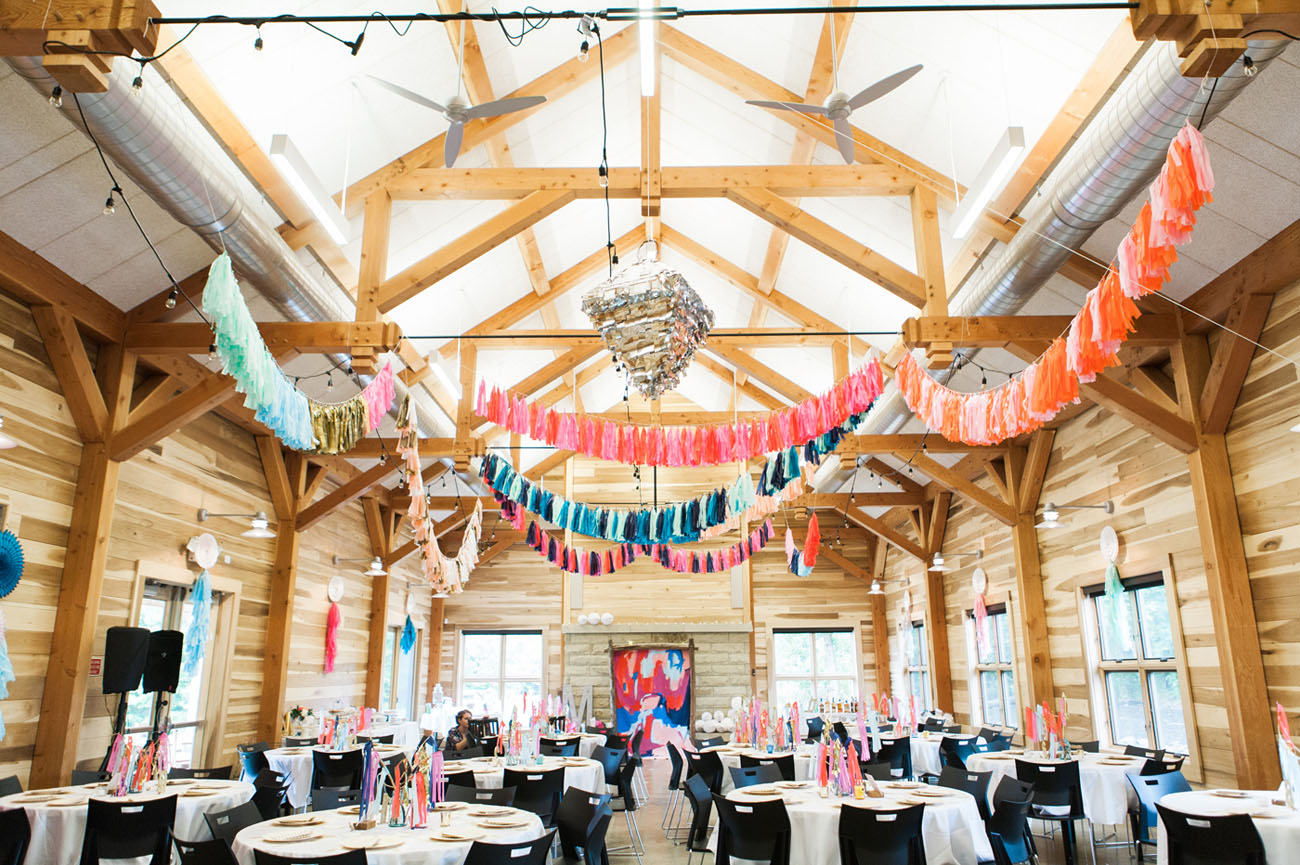 Colorful Wedding Concept Design With An Artistic Decor Looks So Gorgeous
