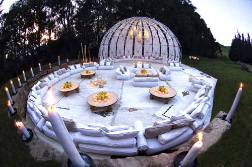 white gorgeous wedding tents