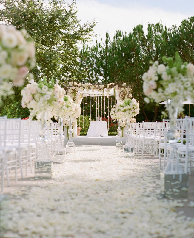 white wedding decor ideas