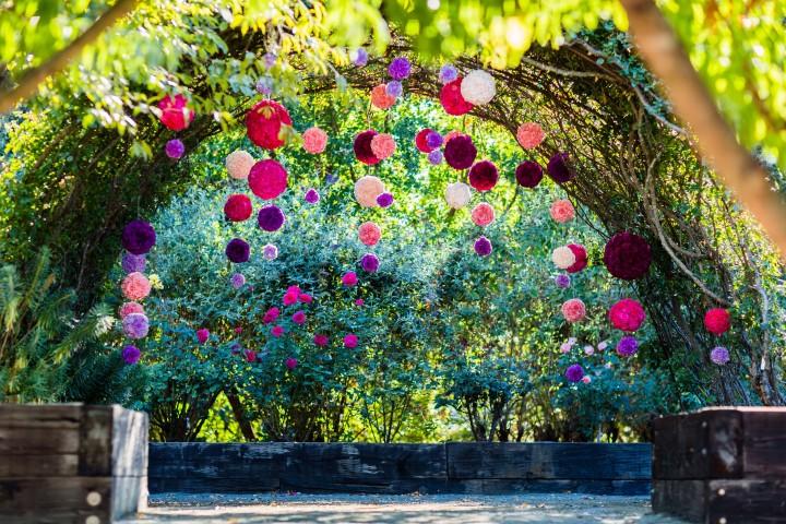 beautiful romantic wedding decor