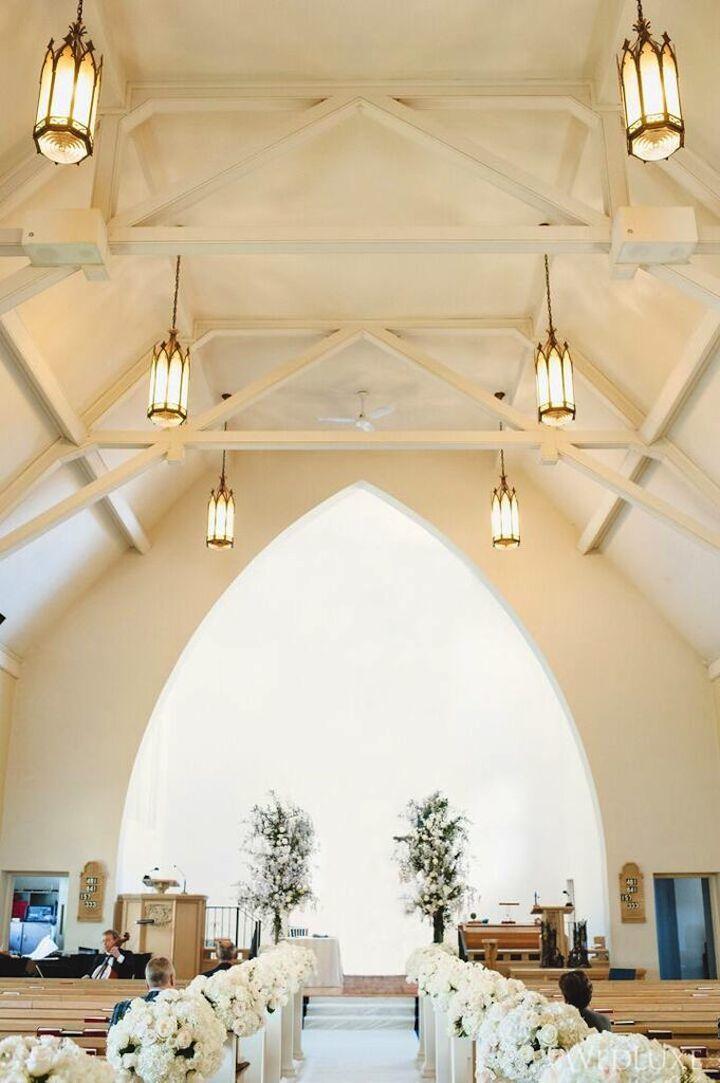 snowy wedding place