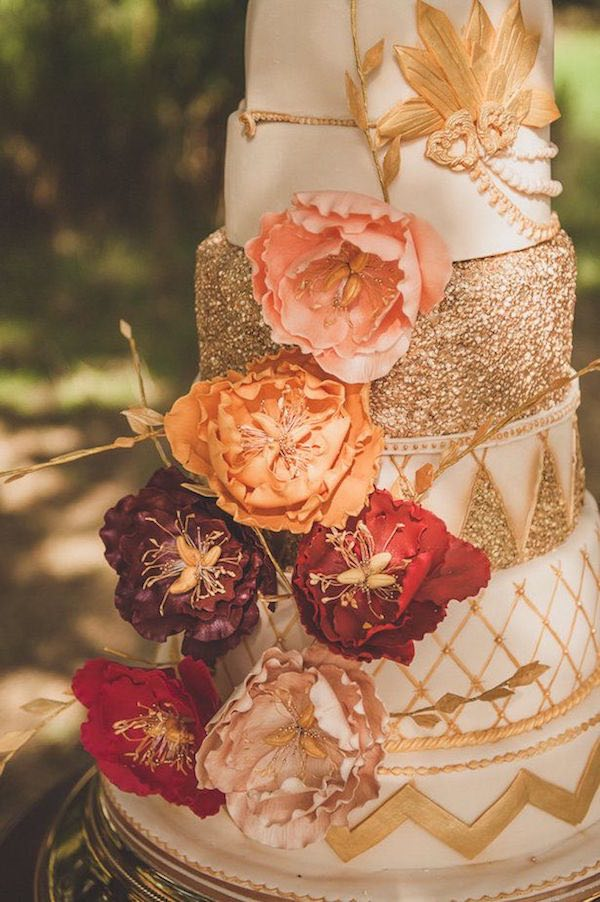 simple beautiful wedding cake