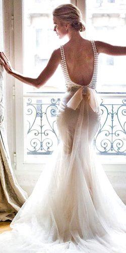 glamor mermaid wedding dress