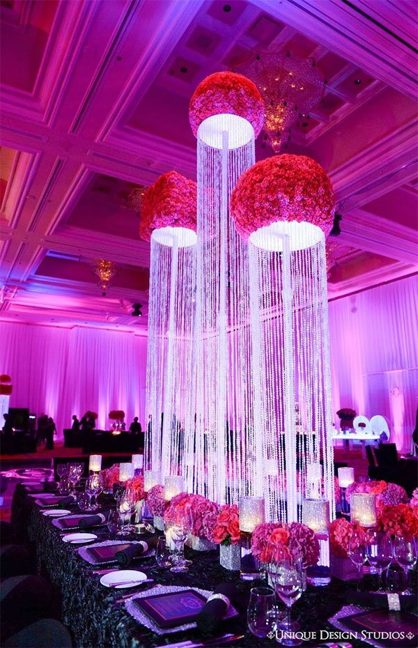 Beautiful Wedding Table Ideas Which Arranged With A Perfect And