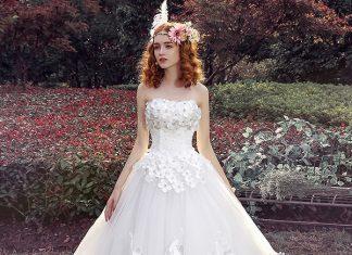 gorgeous wedding gown design