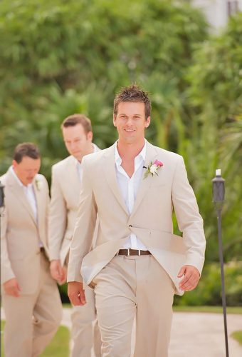 simple and awesome wedding attire