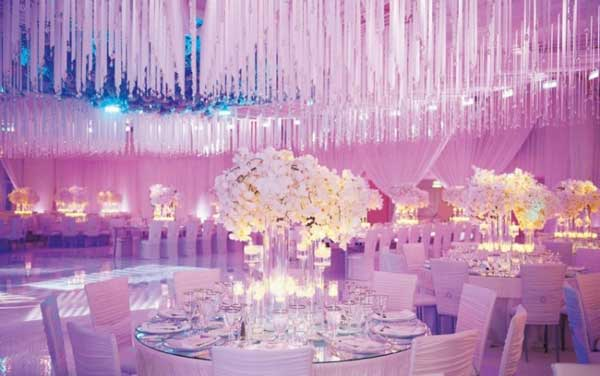 Elegant Wedding Design Weddingfia Purple Decoration Ideas